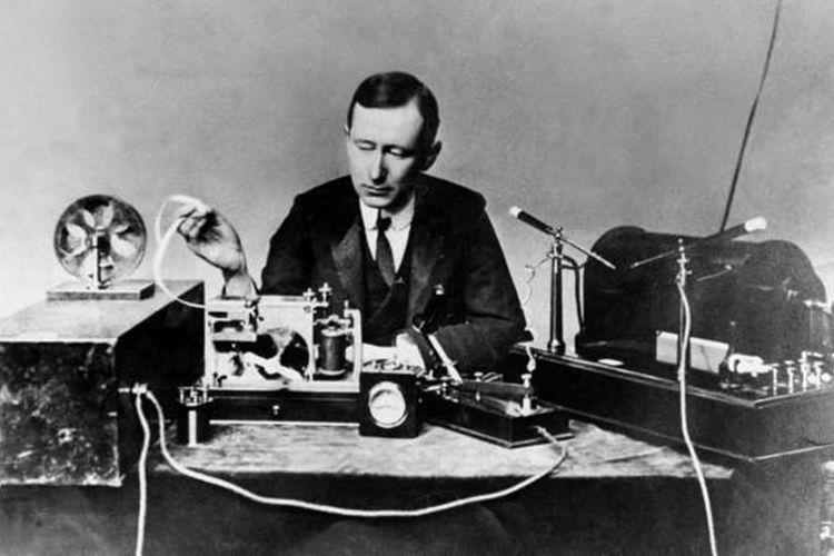 Guglielmo Marconi, Mengembangkan Sistem Telegrafi Tanpa Kabel